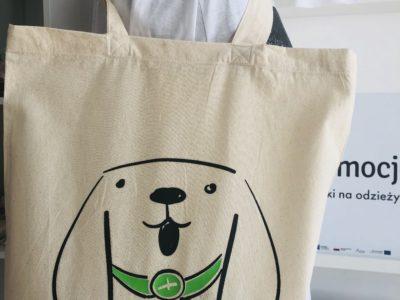 Kup torbę z pieskiem - wesprzyj zwierzaki :)